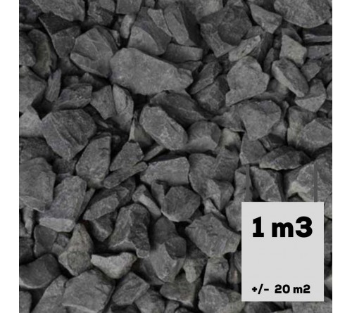 Basalt split 16-25mm 1m3 in Bigbag