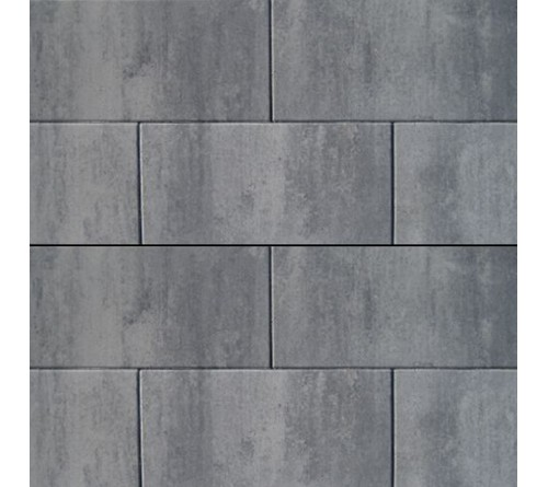 Patio Square tegel 90x90x6 Nero-Grey